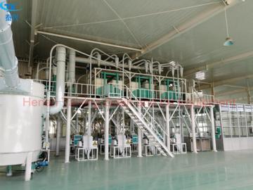 50ton/24H wheat processing equipment wheat flour mill plant