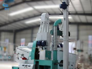 Complete Set Combined Rice Mill Plant/Rice Milling Machine Price