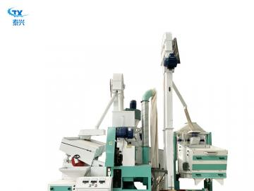 Small scale automatic rice roll milling machine/rice complete flour mill plant