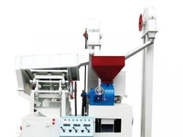 Small processing line millet mill milling grinding machine