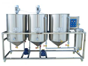Vegetable oil refinery machine