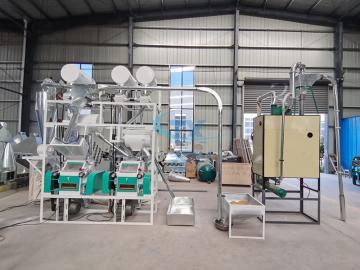 10tpd wheat flour making machine