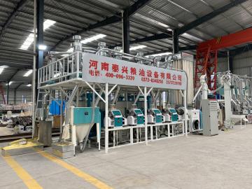 20ton per day maize milling machine corn flour milling plant
