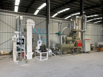 5ton per day corn flour milling machine
