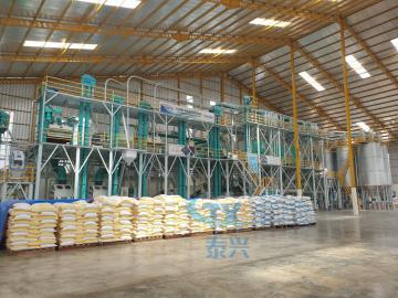 200ton per day Corn/Maize Mill Machinery