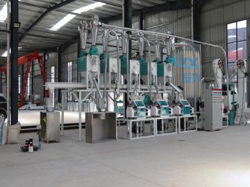10ton per day maize flour milling machine