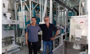30ton per day wheat flour milling machine plant in Cyprus