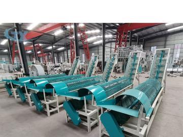 Cassava flour processing machine tapioca flour making line