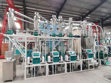 15ton per day wheat flour mill equipment line